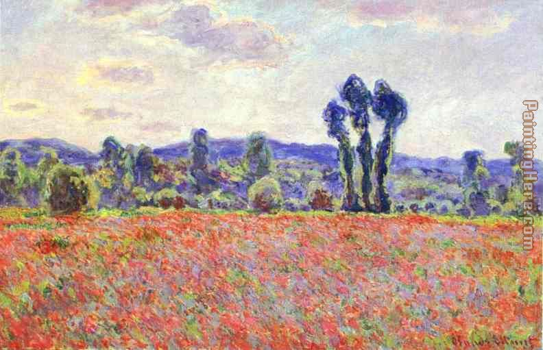Claude Monet The Fields of Poppies