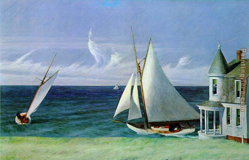 Edward Hopper Lee Shore