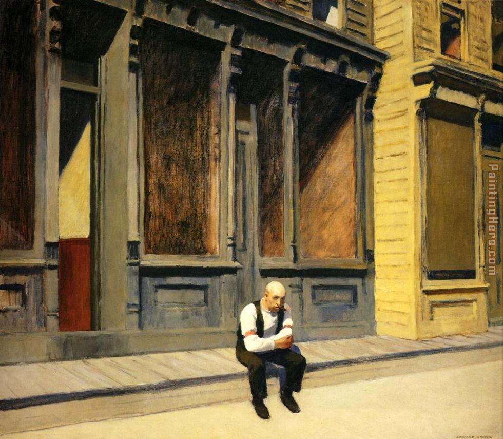 Edward Hopper Sunday