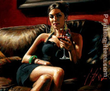 Fabian Perez Red on Red V