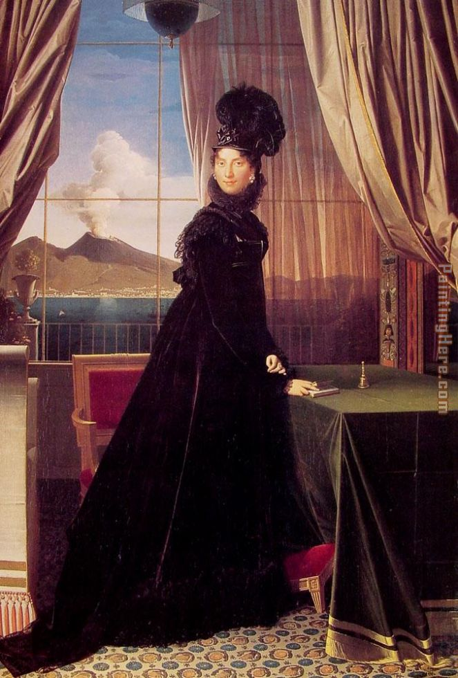 Jean Auguste Dominique Ingres Queen Caroline Murat