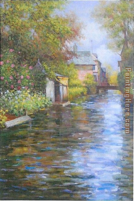 Louis Aston Knight River bank