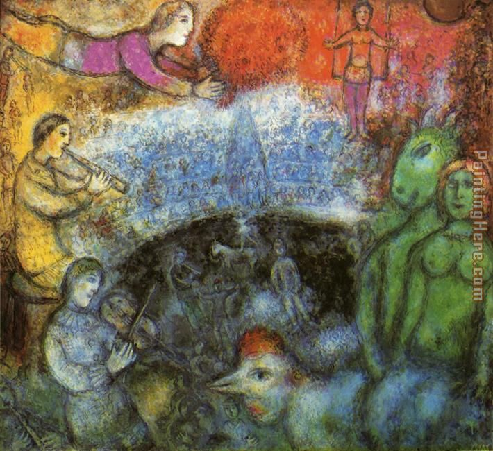 Marc Chagall The Grand Parade