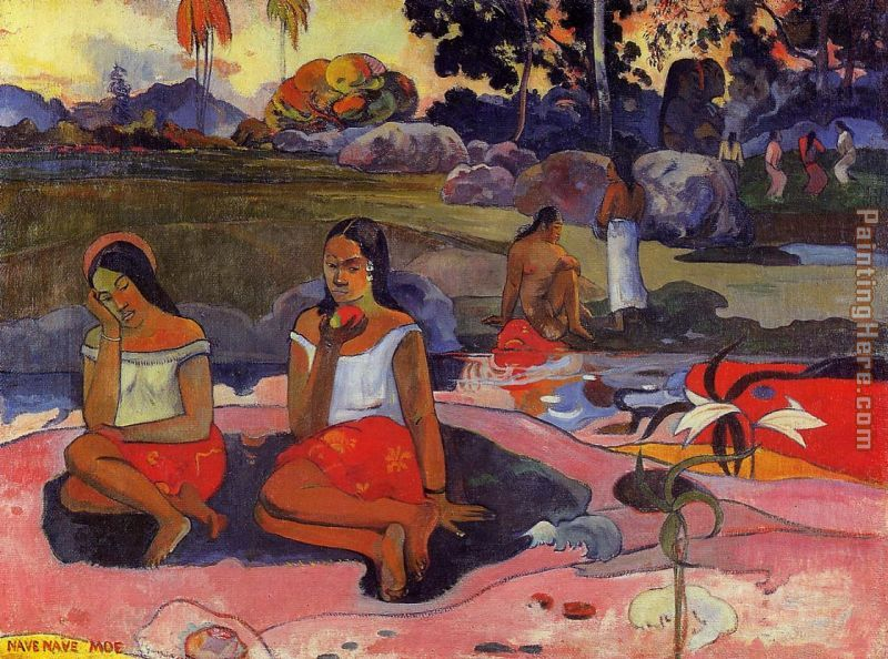 Paul Gauguin Delightful Drowsiness