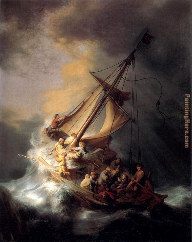 Rembrandt Christ In The Storm