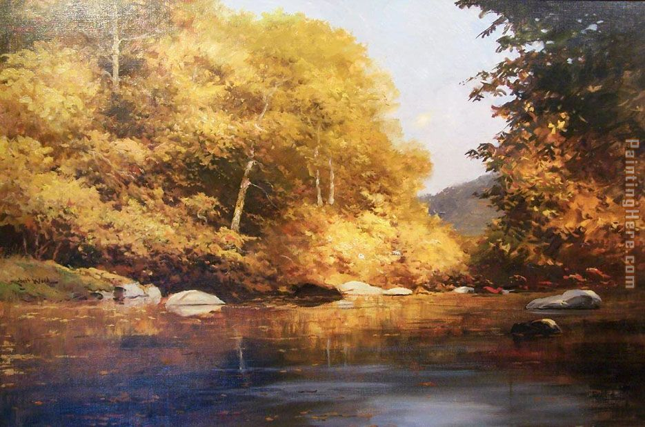 Robert Wood Autumn Bronze