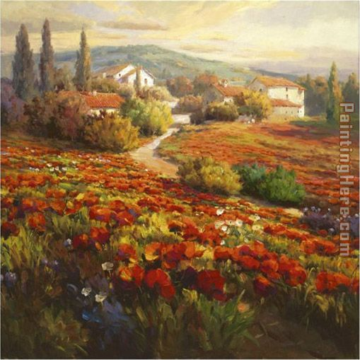 Roberto Lombardi Poppy Fields
