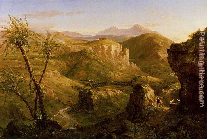 Thomas Cole The Vale and Temple of Segesta, Sicily