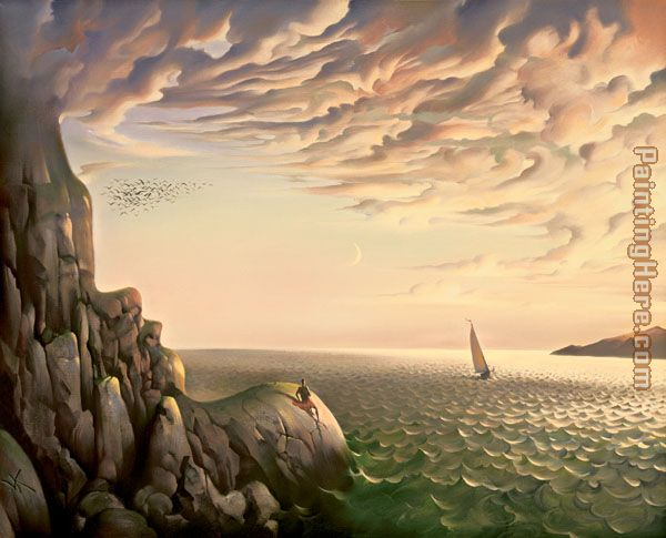Vladimir Kush bound for distant shores