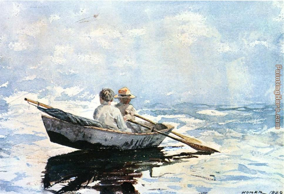 Winslow Homer Rowboat