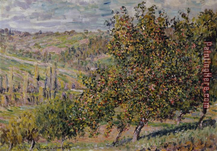 Claude Monet Apple Blossom