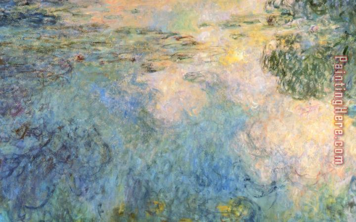 Claude Monet Basin Of Water Lilies