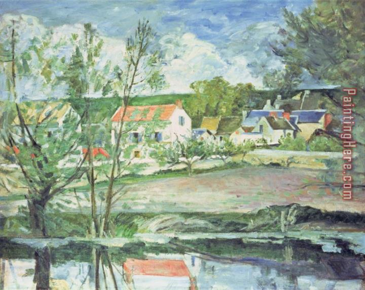 Paul Cezanne In The Oise Valley