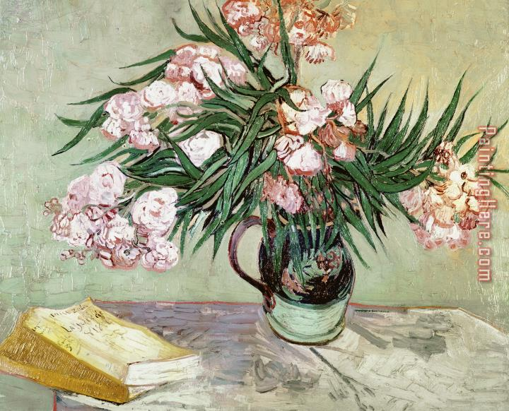 Vincent van Gogh Oleanders and Books