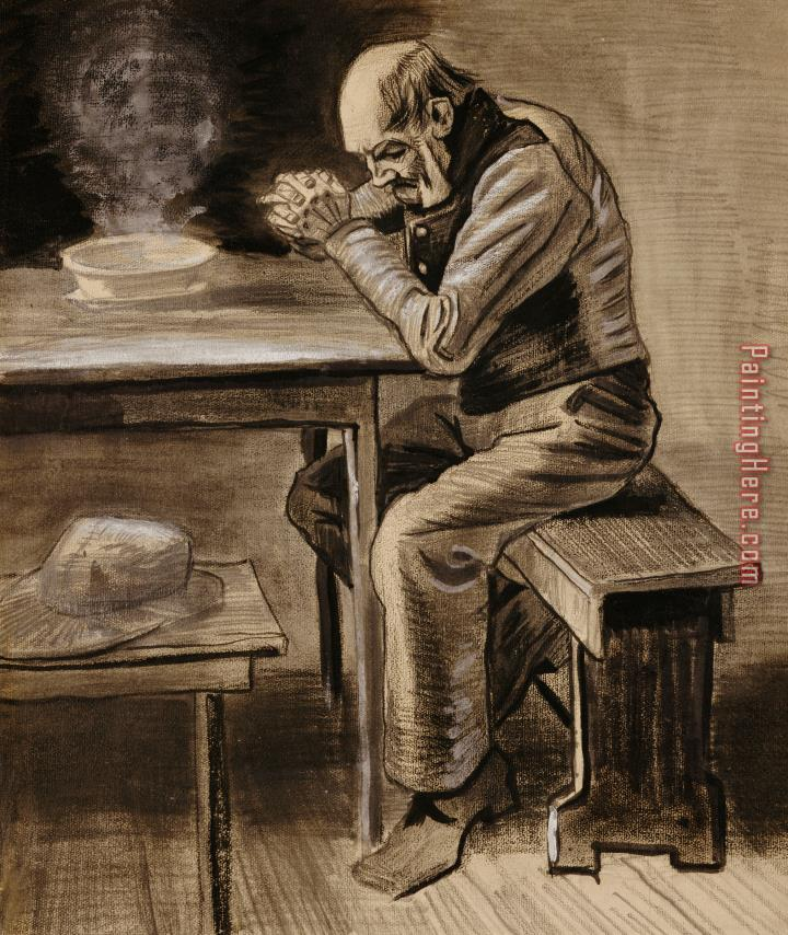 Vincent van Gogh The Prayer