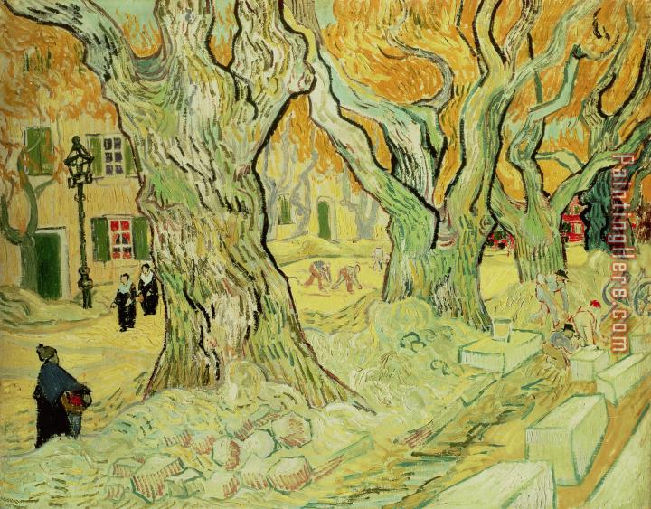 Vincent van Gogh The Road Menders