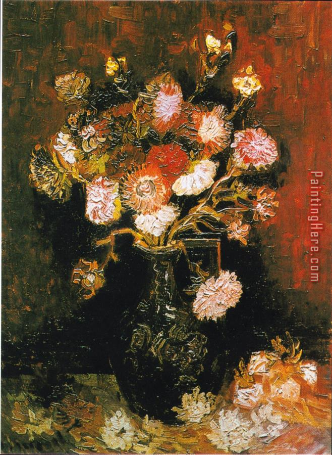 Vincent van Gogh Vase with Asters And Phlox