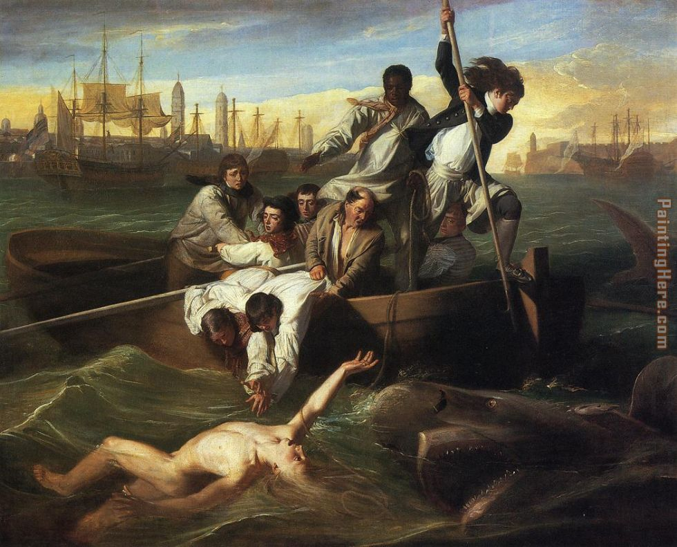 John Singleton Copley Watson and the Shark