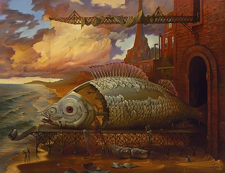 Vladimir Kush Deep Sea Project