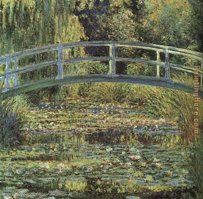 Claude Monet Monet The Waterlily Pond