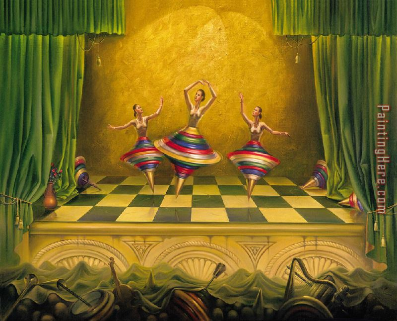 Vladimir Kush Three Graces